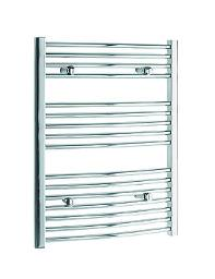 Tivolis Heated Towel Rail Radiator Curved 400mm x 800mm