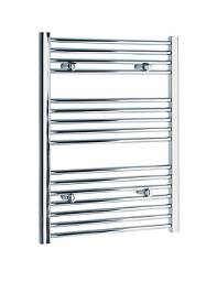 Tivolis Heated Towel Rail Radiator Straight 400 x 800mm