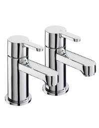 Sagittarius Plaza Bath Taps Pair - PL-102-C