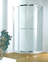 Kudos Original 900mm White Pivot Shower Door With Tray And Waste