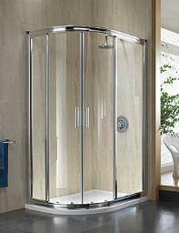 Twyford Hydr8 Offset Quadrant Shower Enclosure 900 x 760mm