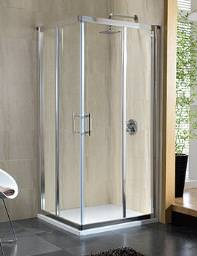 Twyford Geo6 Corner Entry Shower Enclosure 900mm - G65303CP
