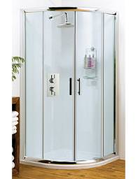 Lauren Pacific Quadrant Shower Enclosure 800 x 800mm - AQU8