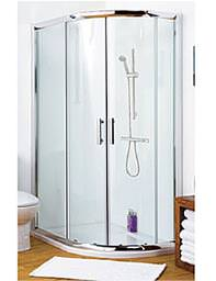 Lauren Pacific Offset Quadrant Shower Enclosure 1000 x 900mm - AQU109