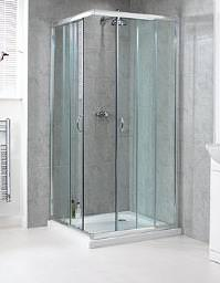 Aqualux Shine Corner Entry Shower Enclosure 800mm - FEN0892AQU