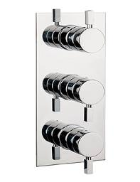 Crosswater Logic Thermostatic Shower Valve With 3 Way Diverter Portrait