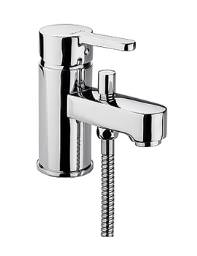 Plaza Monobloc Bath Shower Mixer Tap With Kit - PL-205-C