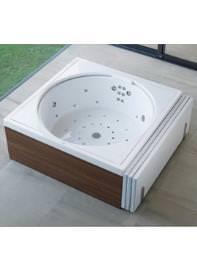 Duravit Blue Moon Combi-Pool 1800 x 1800mm White - 710169