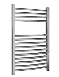 Lauren Curved Ladder Towel Rail Chrome 500 x 700mm - MTY066