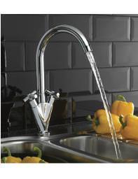 Tre Mercati Ulysses Kitchen Mono Sink Mixer Tap - 90030