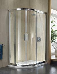 Twyford Hydr8 Offset Quadrant Shower Enclosure 900 x 800mm