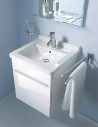 Starck 3 basin 480mm On X-Large 440mm Furniture - XL6525L1818