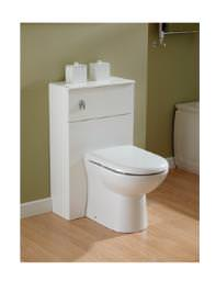 Essential Gem Back-To-Wall WC Furniture Unit 535x766mm - GEM003W