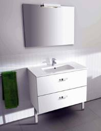 Roca Victoria Unik Base Unit With Basin And Mirror Set - 855748806