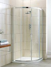 Aquadart Elation Double Door Offset Shower Quadrant 1200 x 900mm