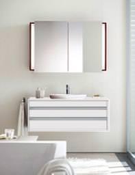 Starck 1 Washbowl 530mm On Ketho 1200mm Furniture - 040853 - KT 6656