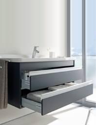 Starck 3 Basin 490mm On Ketho Furniture 1000mm - KT685501818