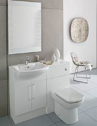 Roca Smooth Compact Back To Wall WC Unit 480mm Wide - 856BT0000