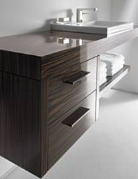2nd Floor Basin-Vanity-Ebony Console - 0491120027