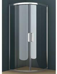 Tavistock Oxygen 8 Double Sliding Door Quadrant Shower Enclosure 800mm