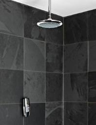 Galaxy Aqua Digitemp Digital Mixer Shower And Emilia Fixed Head