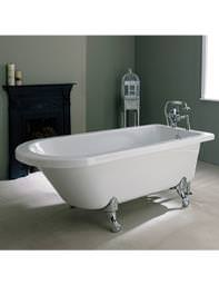 Aquadart Sechura Single Ended Flat Top Bath Tub 1700mm - 28Q1710