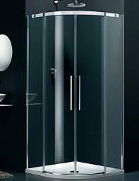 Lakes Italia Carini Frame-less Sliding Doors Quadrant Enclosure 800mm