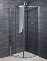 RAK Premium 6 Double Door Shower Quadrant 800 x 800mm - RSTQU80