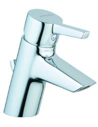 VitrA Slope Basin Mixer Tap With Pop-up Waste Chrome - A40460VUK