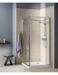 Twyford T4 Pivot Shower Enclosure Door 760mm - T43100CP