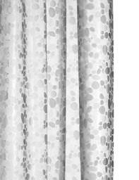 Croydex Pebbles PEVA Vinyl Shower Curtain - AE289232