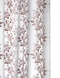 Croydex Flock PEVA Vinyl Shower Curtain with eyelets