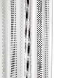 Croydex Bubble Stripe PEVA Vinyl Shower Curtain - AE287221