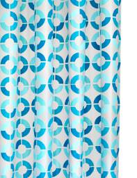 Croydex Mosaic Rings PEVA Vinyl Shower Curtain - AE287424