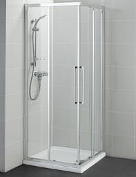 Ideal Standard Kubo 900mm Corner Entry Shower Enclosure - T7364EO