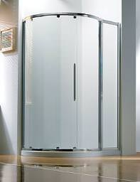 Kudos Original 1270 x 910mm LH Silver Slider Door Side Access
