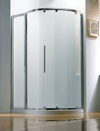 Original 1270x910mm RH Silver Slider Door Side Access With Tray And Waste