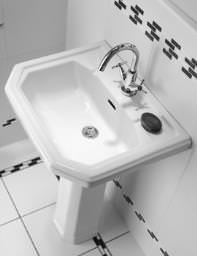 Twyford Clarice 1 Tap Hole Washbasin 580 x 455mm - CL4211WH