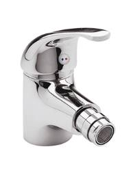 Twyford Aquations Low Flow Monobloc Bidet Tap With Pop-Up Waste