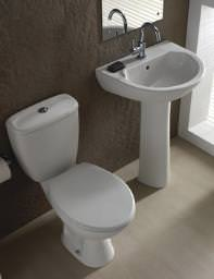 Twyford Option Cloakroom Suite - PK5605WH