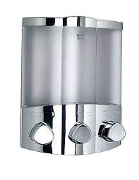 Croydex Euro Dispenser Trio Chrome - PA661041