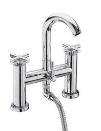 Tre Mercati Maverick Pillar Mounted Bath Shower Mixer Tap With Kit
