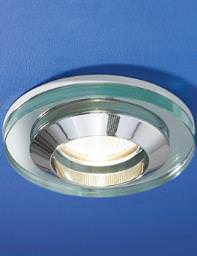 HIB Hudson Round Glass Showerlight - 5420