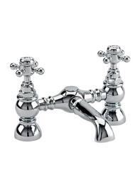 Tre Mercati Sorrento Pillar Mounted Bath Filler Tap Chrome - 96030