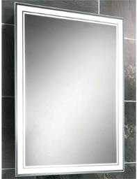 HIB Skye Fluorescent Back-Lit Mirror 500 x 700mm - 77307000