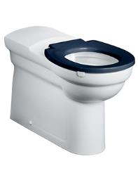 Armitage Shanks Contour Raised Height Back To Wall WC Pan White