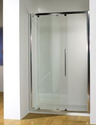 Kudos Original Straight 1500mm Sliding Shower Door With Tray And Waste