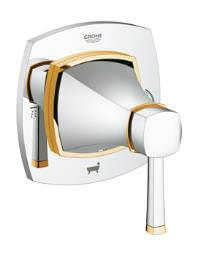 Grohe Spa Grandera Chrome-Gold 5-Way Diverter Trimset - 19942IG0