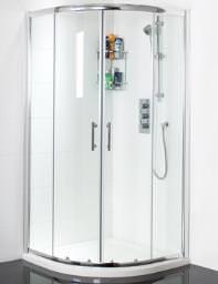 Phoenix Form 900 x 760mm Left Hand Offset Twin Door Shower Quadrant