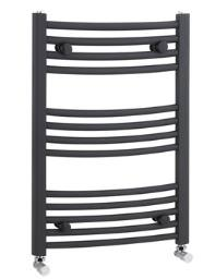 Lauren Curved Ladder Rail for Towels 500 x 700mm Anthracite